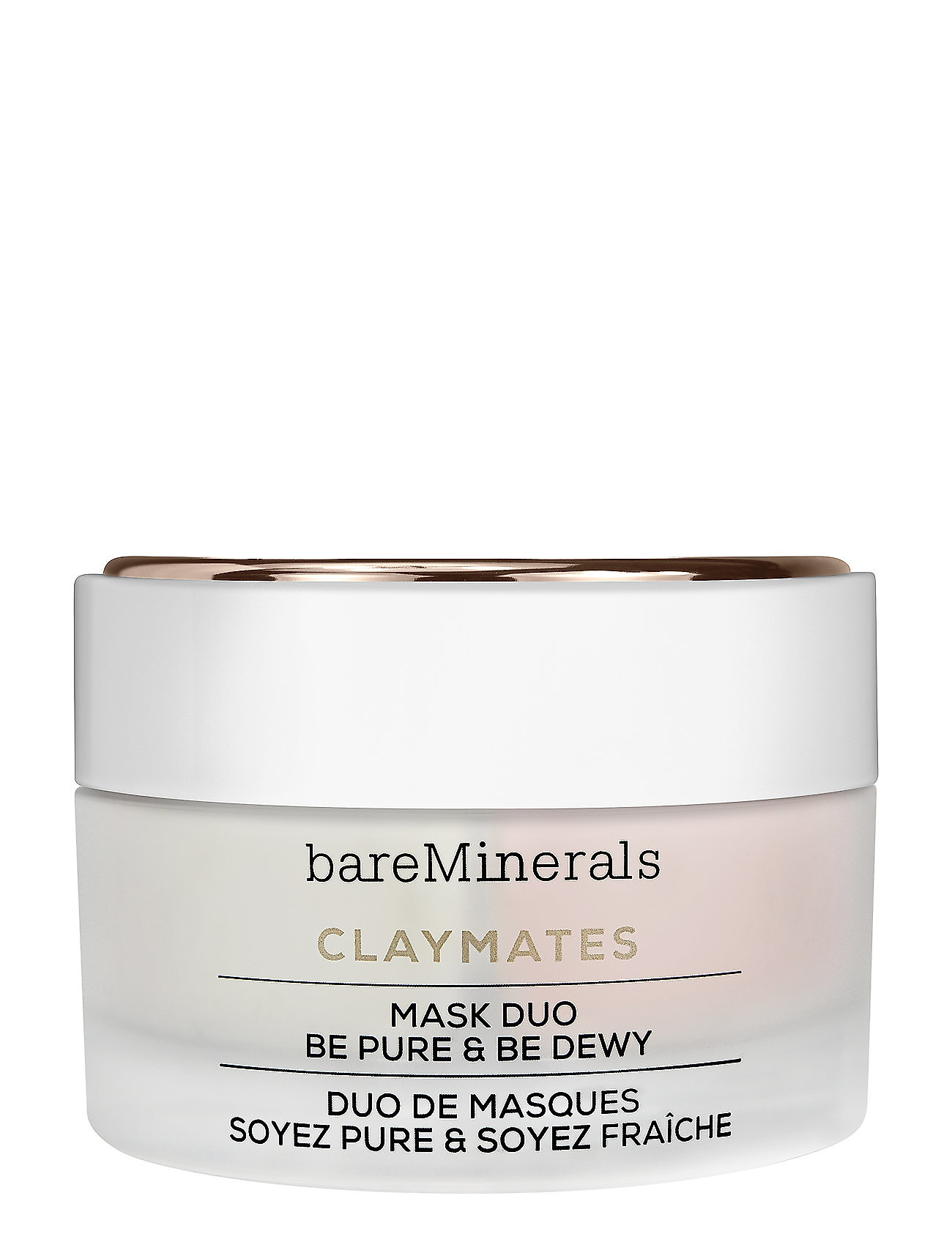 Image of Claymates Be Pure & Be Dewy Beauty WOMEN Skin Care Face Face Masks Nude BareMinerals (3068685335)
