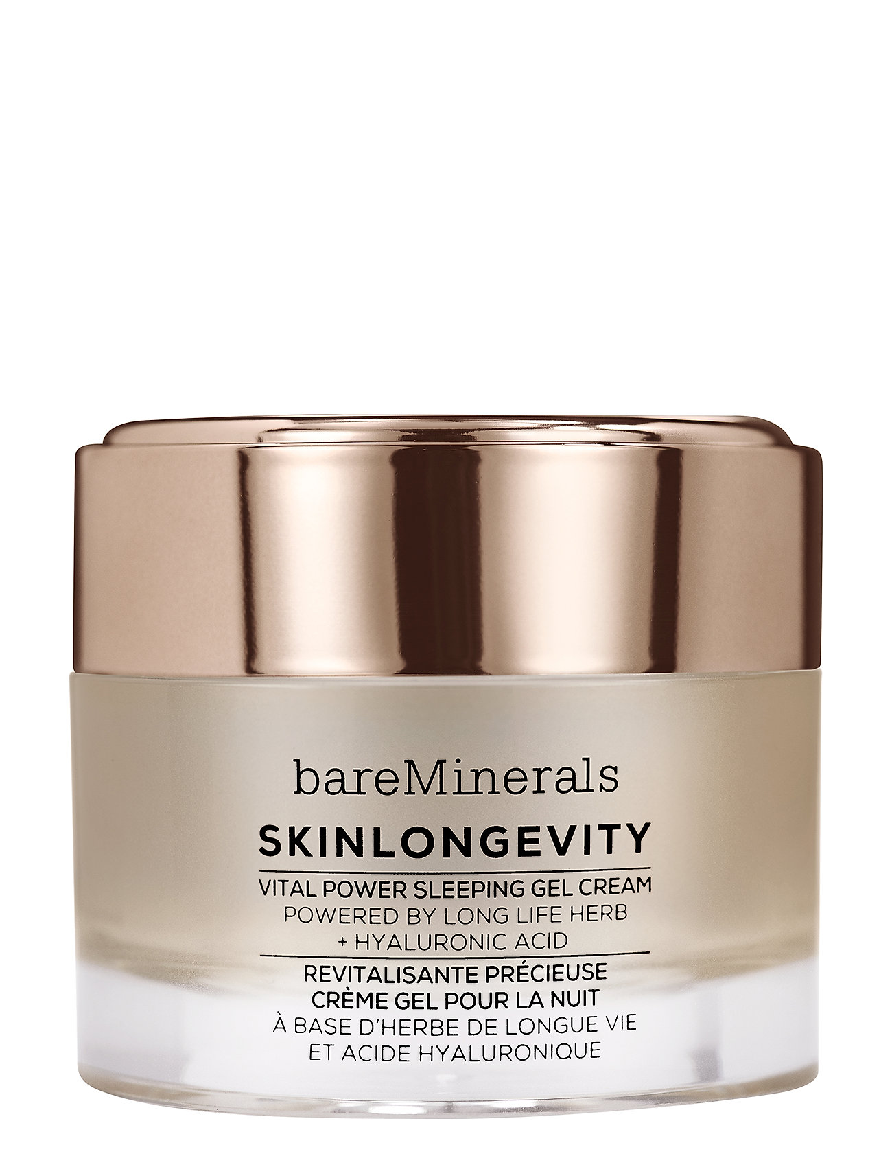 Image of Skinlongevity™ Vital Power Sleeping Gel Cream Beauty WOMEN Skin Care Face Night Cream Nude BareMinerals (3410527049)