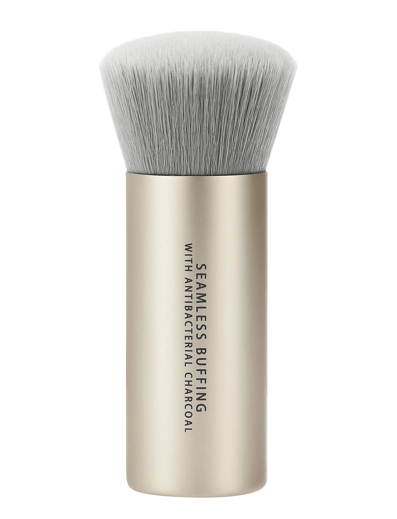 Image of Seamless Buffing Brush With Antibacterial Charcoal Beauty WOMEN Makeup Makeup Brushes Face Brushes Nude BareMinerals (3406161635)