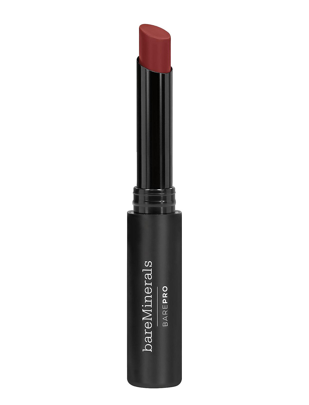 Image of Barepro Longwear Lipstick Nutmeg Læbestift Makeup Brun BareMinerals (3138616955)