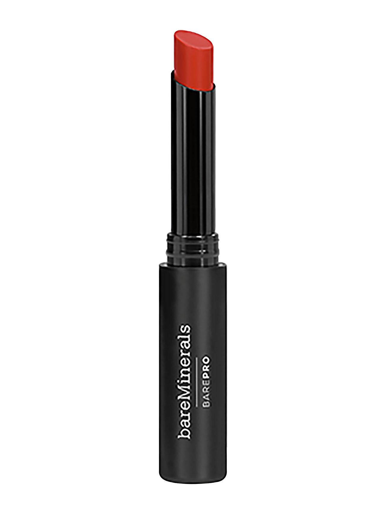 Image of Barepro Longwear Lipstick Saffron Læbestift Makeup Rød BareMinerals (3138616973)