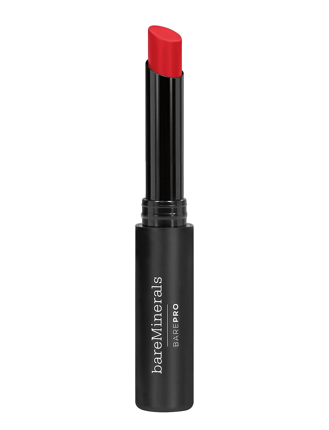 Image of Barepro Longwear Lipstick Cherry Læbestift Makeup Rød BareMinerals (3138616975)
