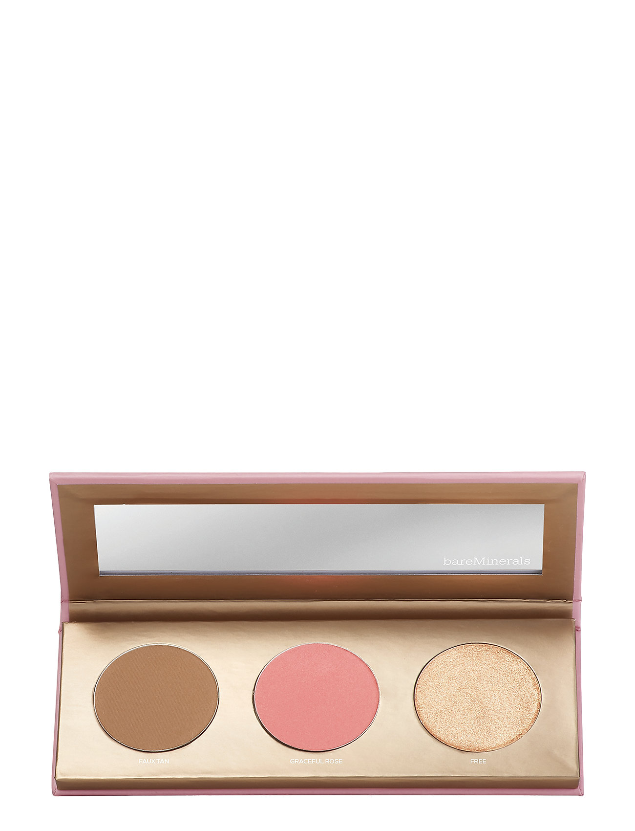 bareMinerals Bare Glow On-The-Go Face Palette - NO COLOUR