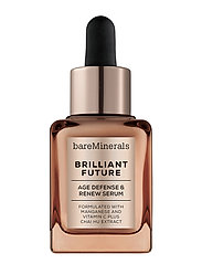 bareMinerals Brilliant Future Age Defense and Renew Serum - CLEAR