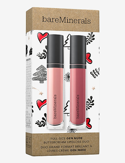 Gen Nude Buttercream Lipgloss Duo - läppglans - pink