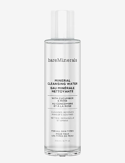 Mineral Cleansing Water - sminkborttagning - clear