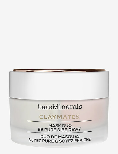 ClayMates Be Pure & Be Dewy - ansiktsmasker - clear