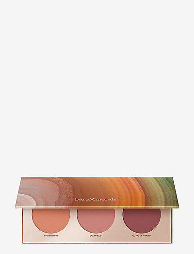 Desert Bloom Gen Nude Mini Blush Trio Palette - blush - no colour