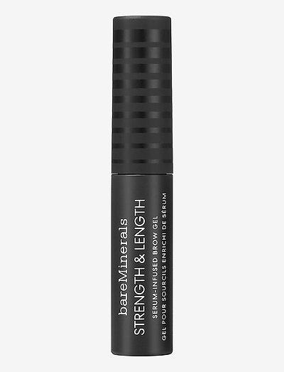 Strength & Length Serum Infused Brow Gel - mascara - chestnut
