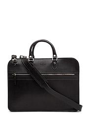 Small Zip briefcase - BLACK