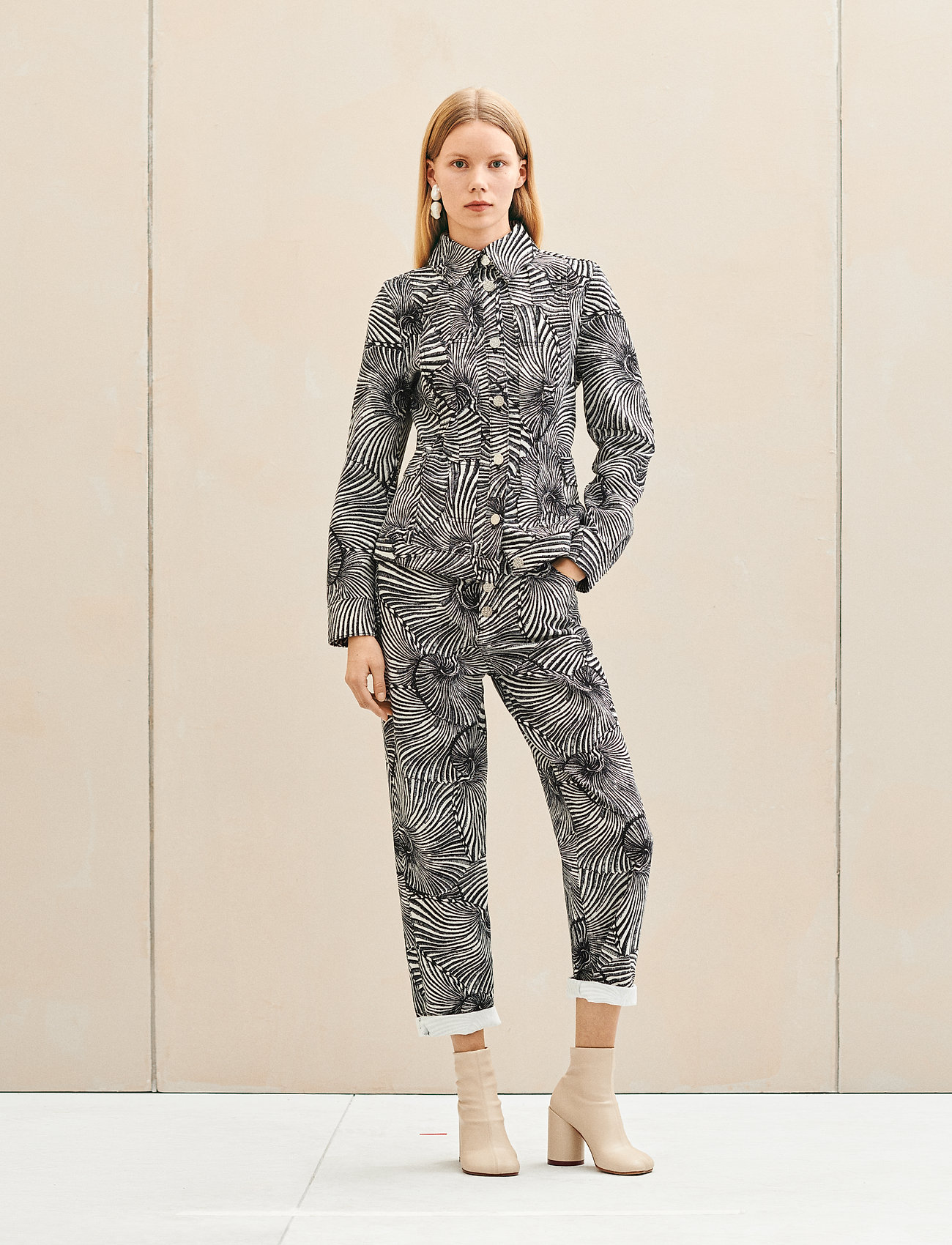 Baum und Pferdgarten - NANCY - jeans droites - black tiger shell - 0