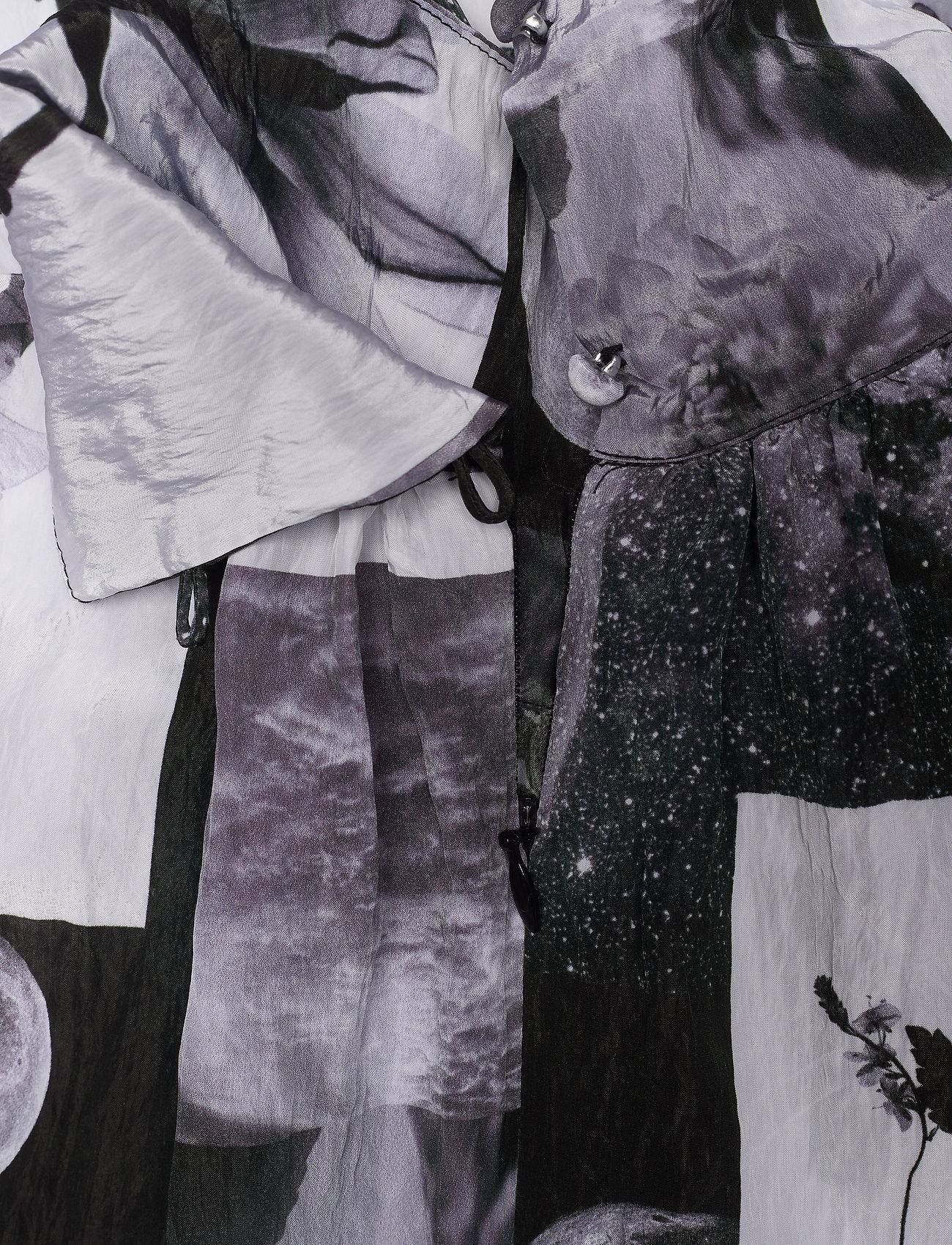 Baum und Pferdgarten - ANGIE - maxi dresses - black floral collage - 5