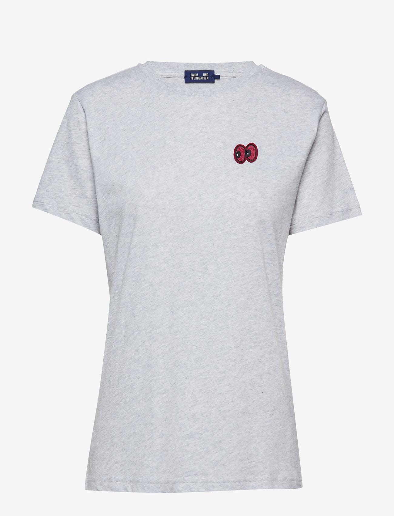 Baum und Pferdgarten - JUNA - t-shirts - grey melange - 0