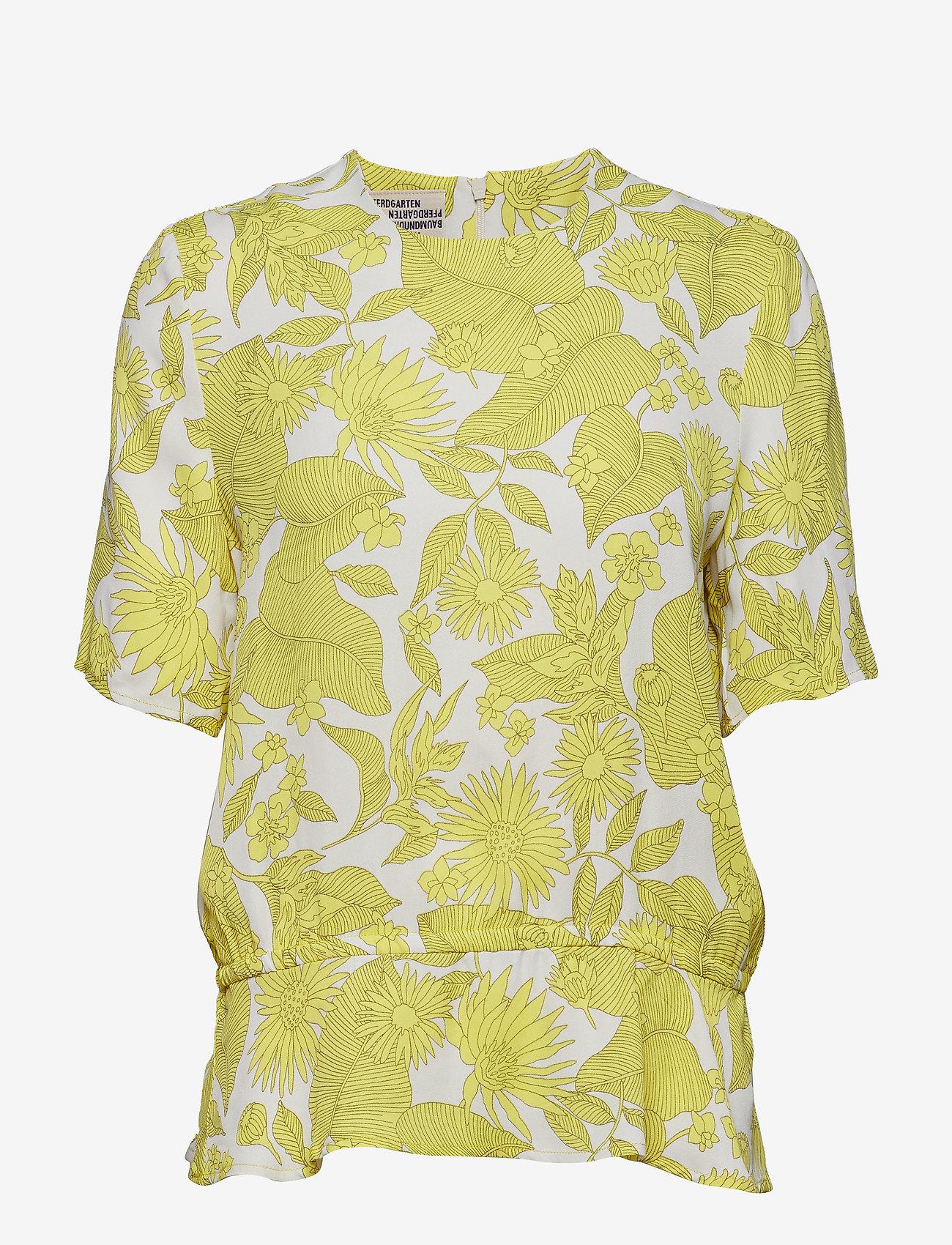 Baum und Pferdgarten - MERIS - blouses à manches courtes - tropically yellow - 0