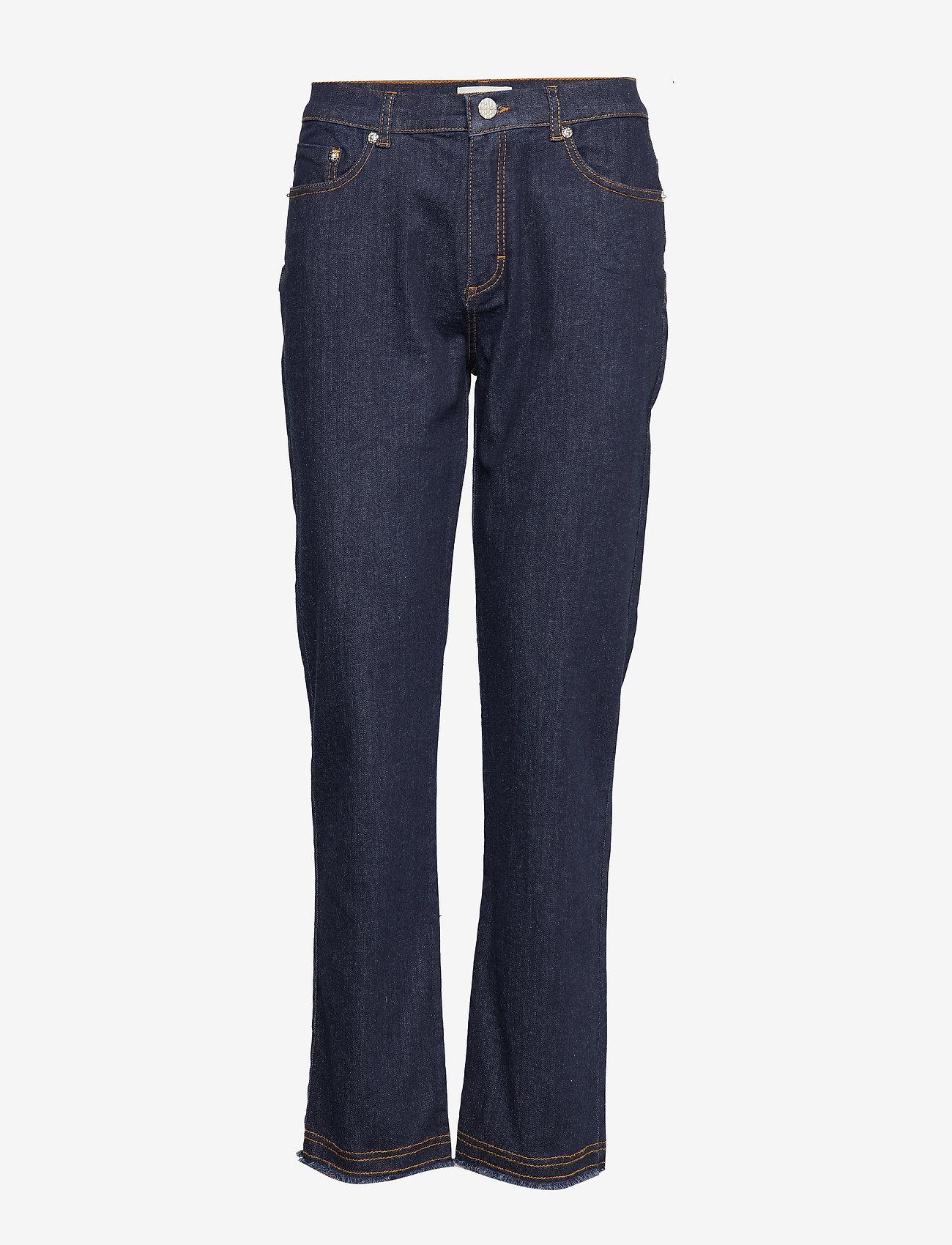 Baum und Pferdgarten - NIKKI - jeans droites - denim rinse - 0