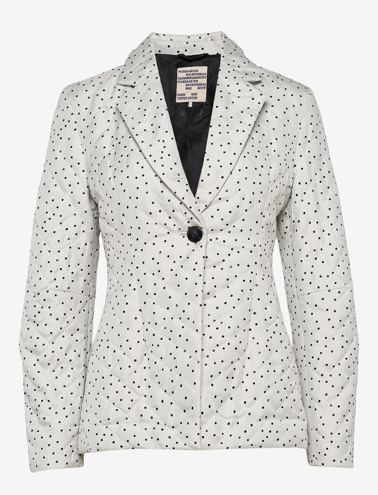 Baum und Pferdgarten - BENTE - blazere - creamblack flying dots - 0