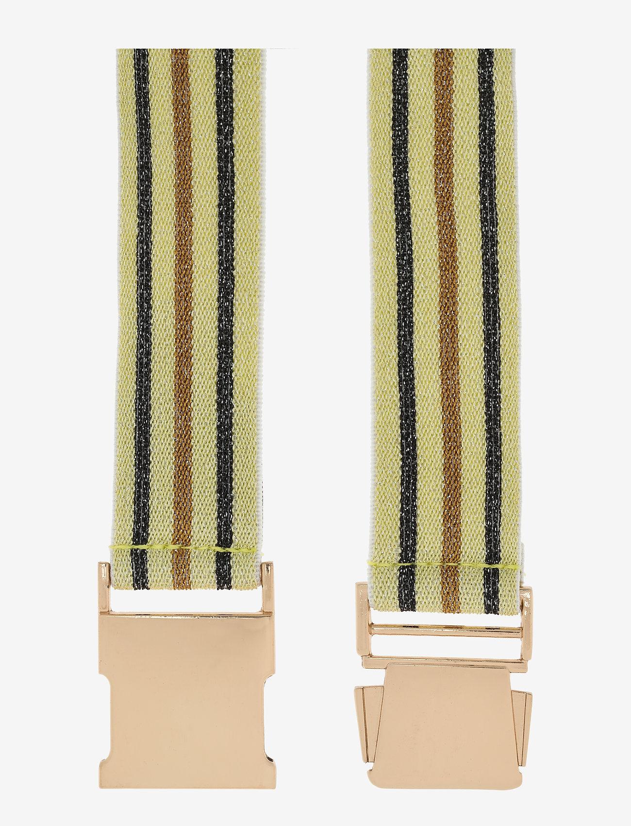 Baum und Pferdgarten - LILIA - riemen - yellowblackbrown stripe - 1