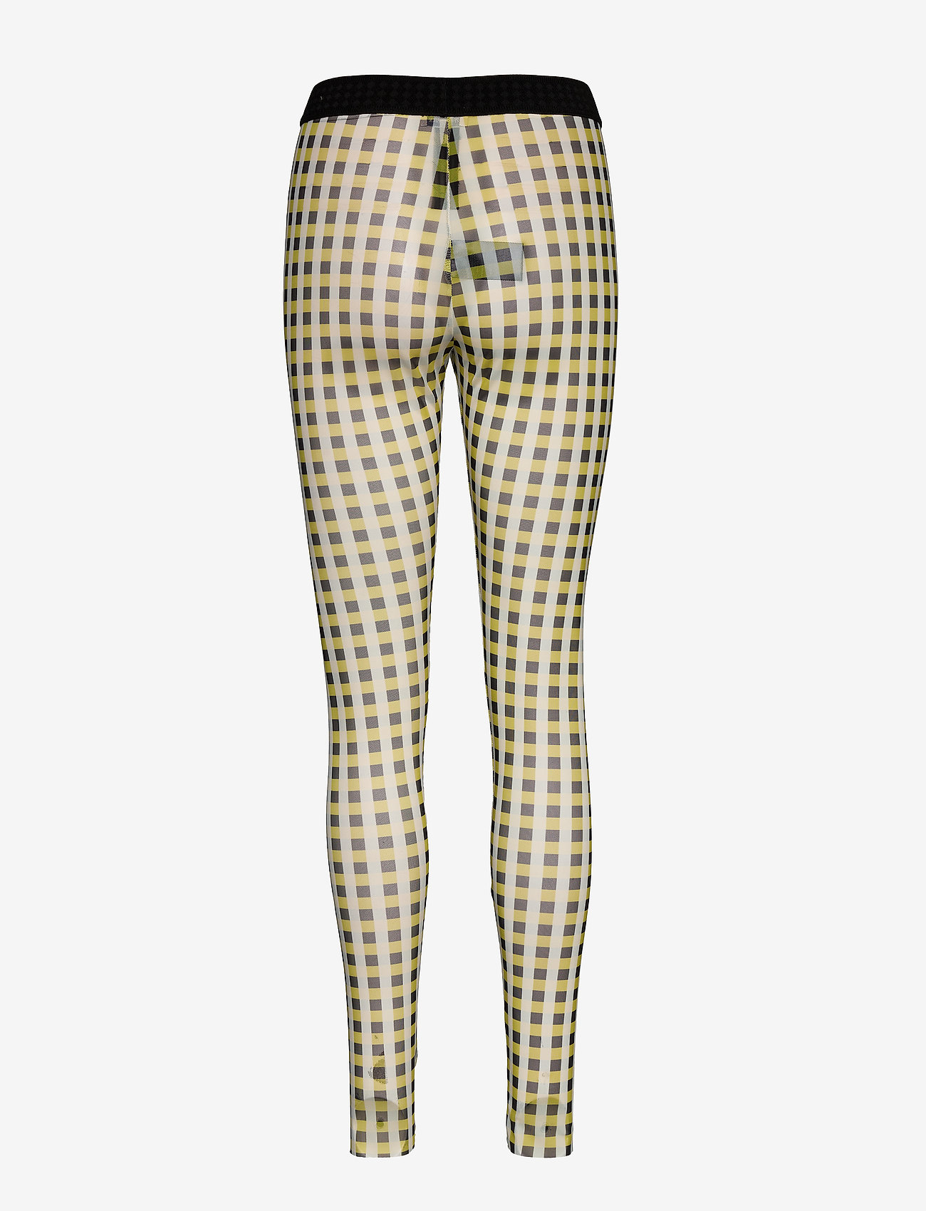 Baum und Pferdgarten - JAZZLYN - leggings - yellow black check - 1
