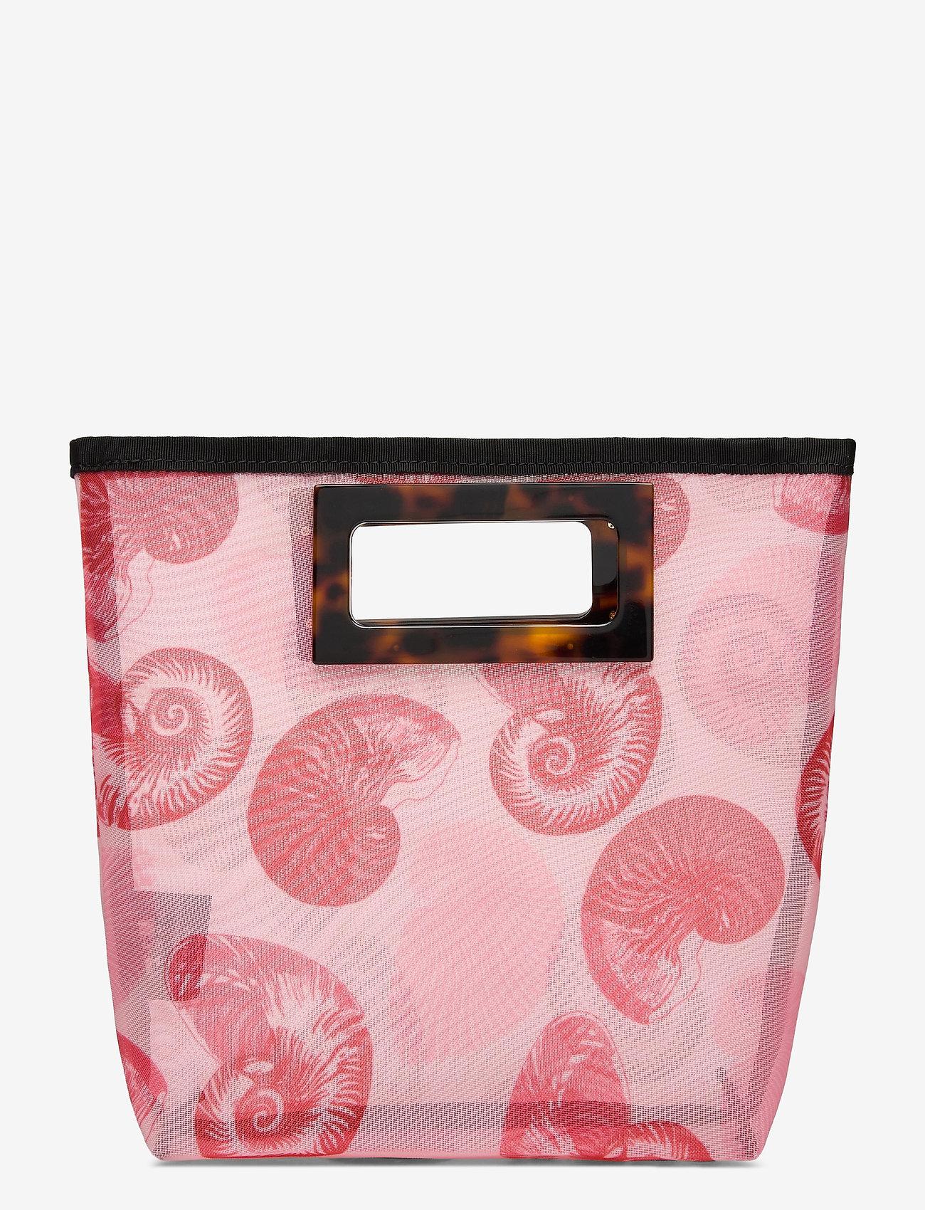 Baum und Pferdgarten - KATE - handbags - pink shell wallpaper - 0