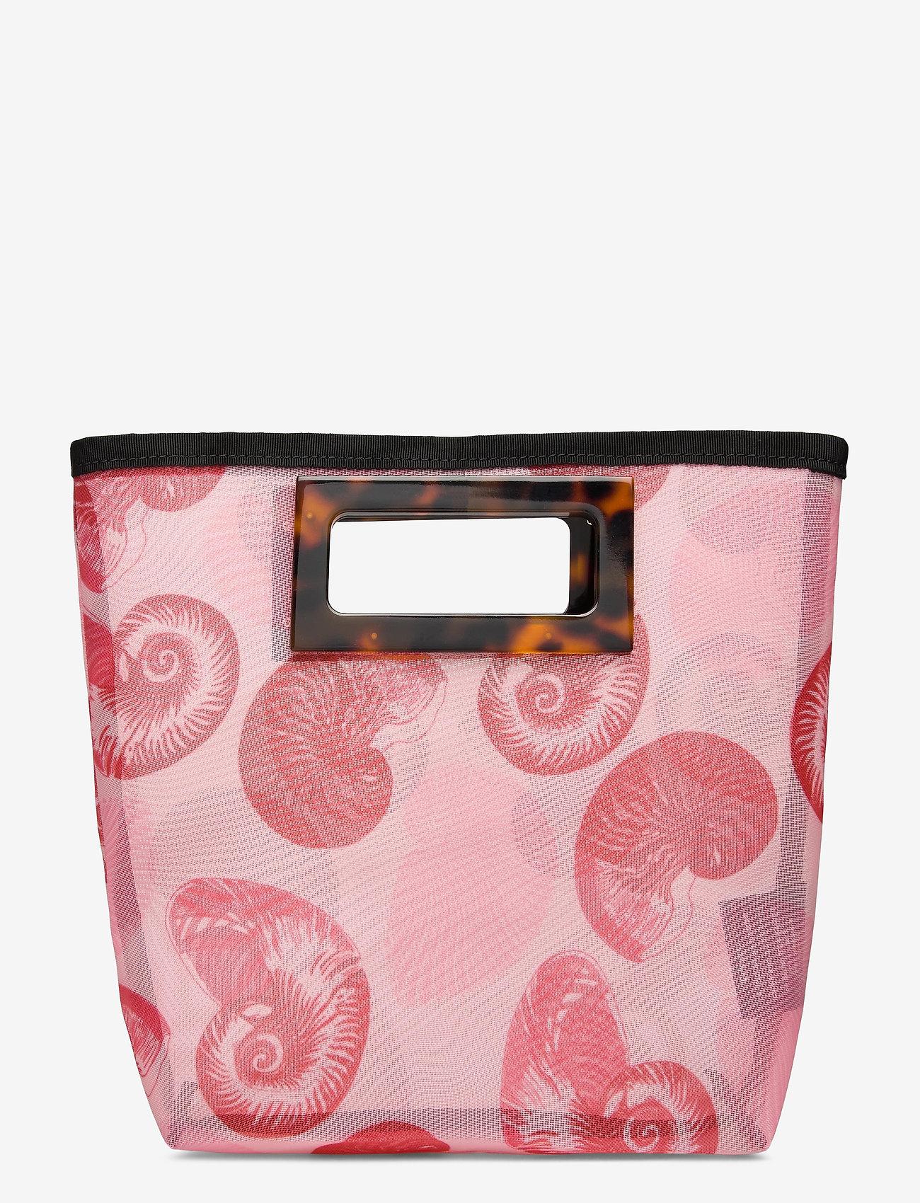 Baum und Pferdgarten - KATE - handbags - pink shell wallpaper - 1