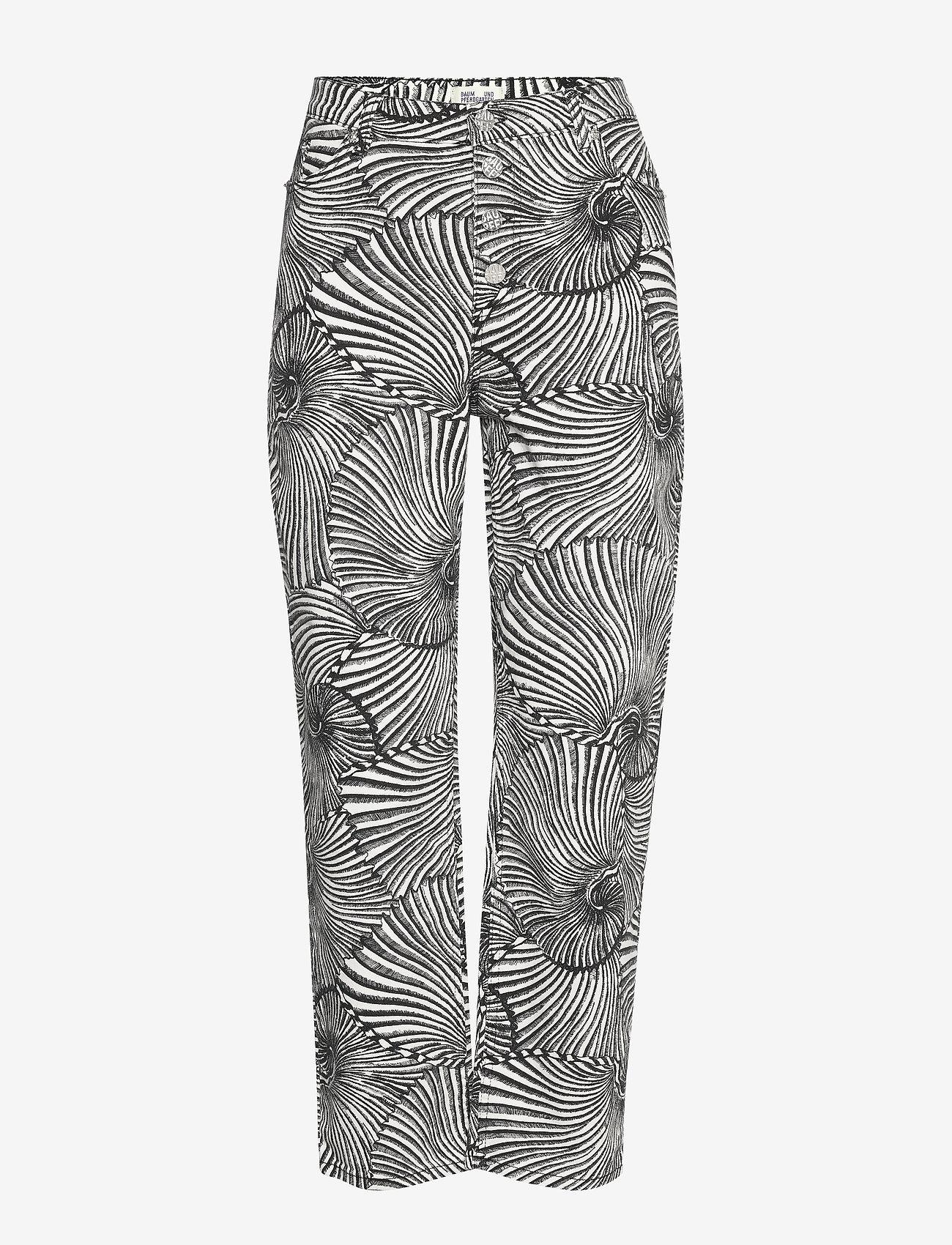 Baum und Pferdgarten - NANCY - jeans droites - black tiger shell - 1