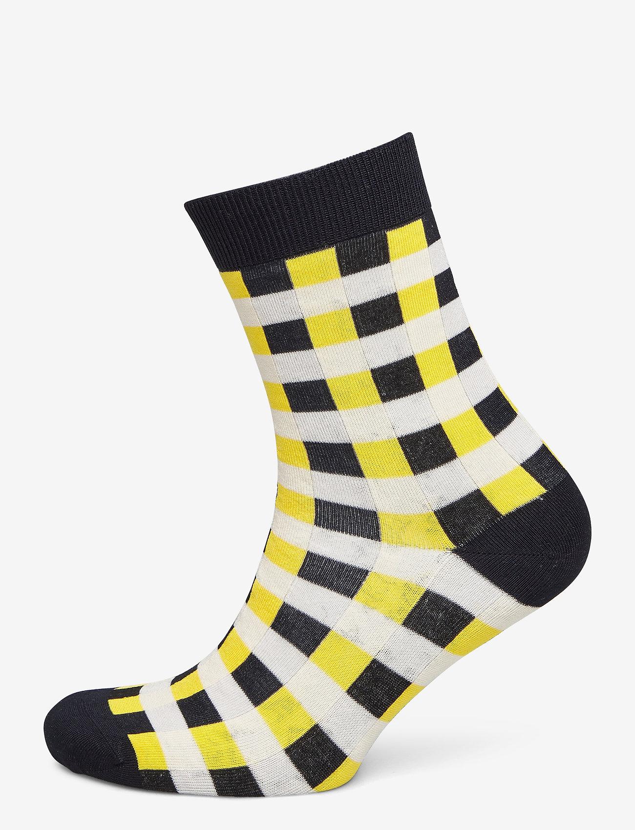 Baum und Pferdgarten - LAUREL - chaussettes - yellow black check - 0