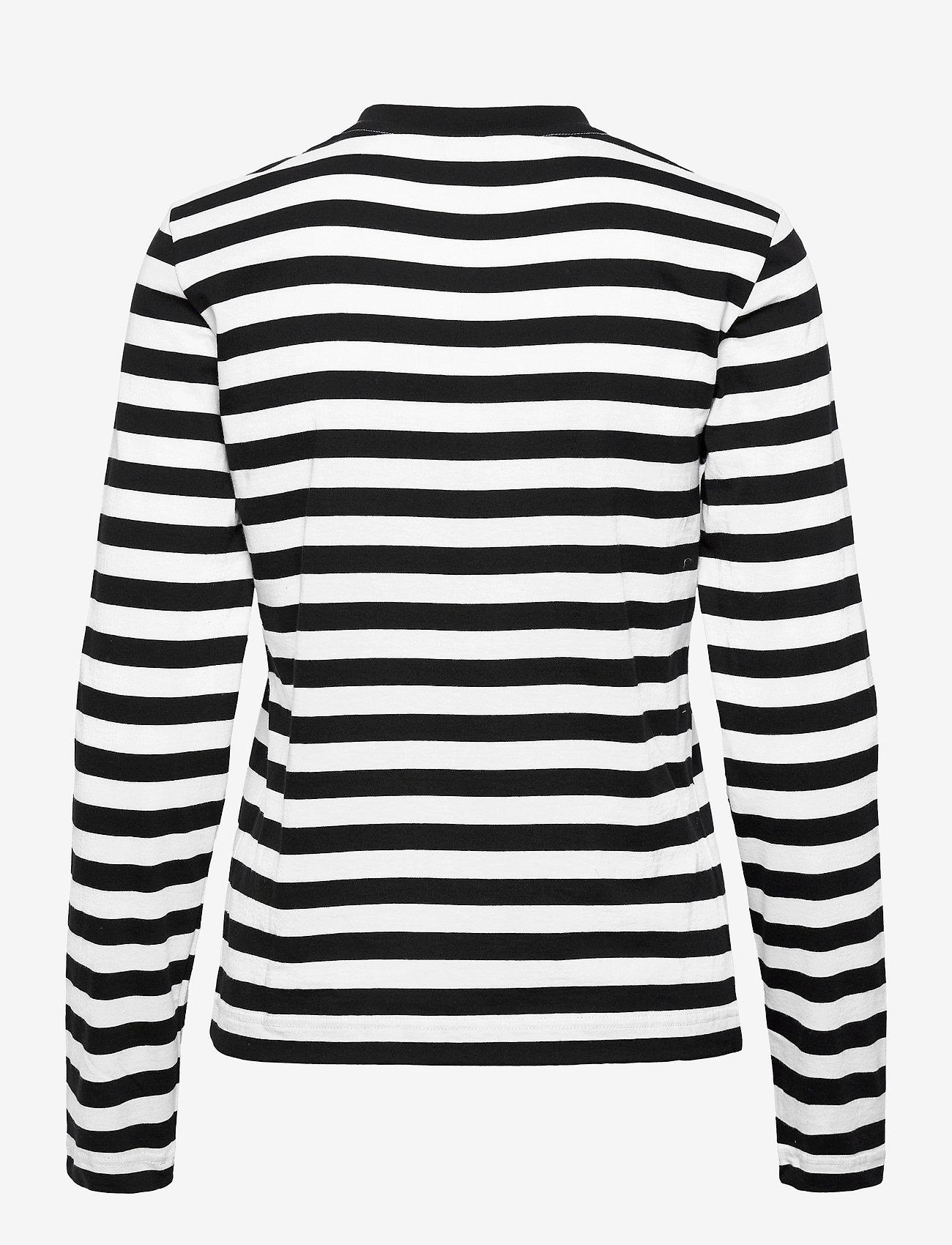 Baum und Pferdgarten - JOEANA - långärmade toppar - black and white stripe - 1