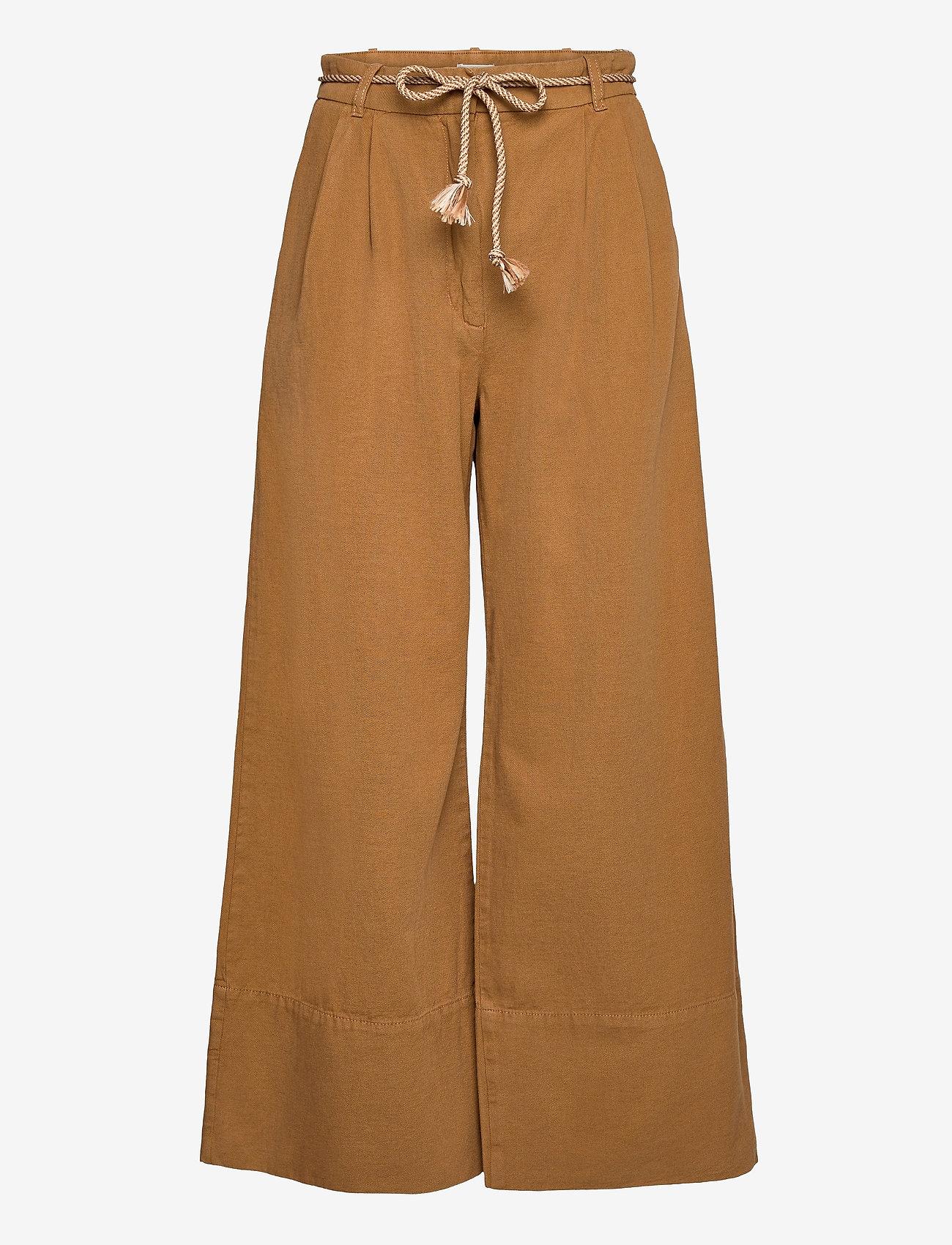 Baum und Pferdgarten - NOUR - bukser med brede ben - rubber - 0