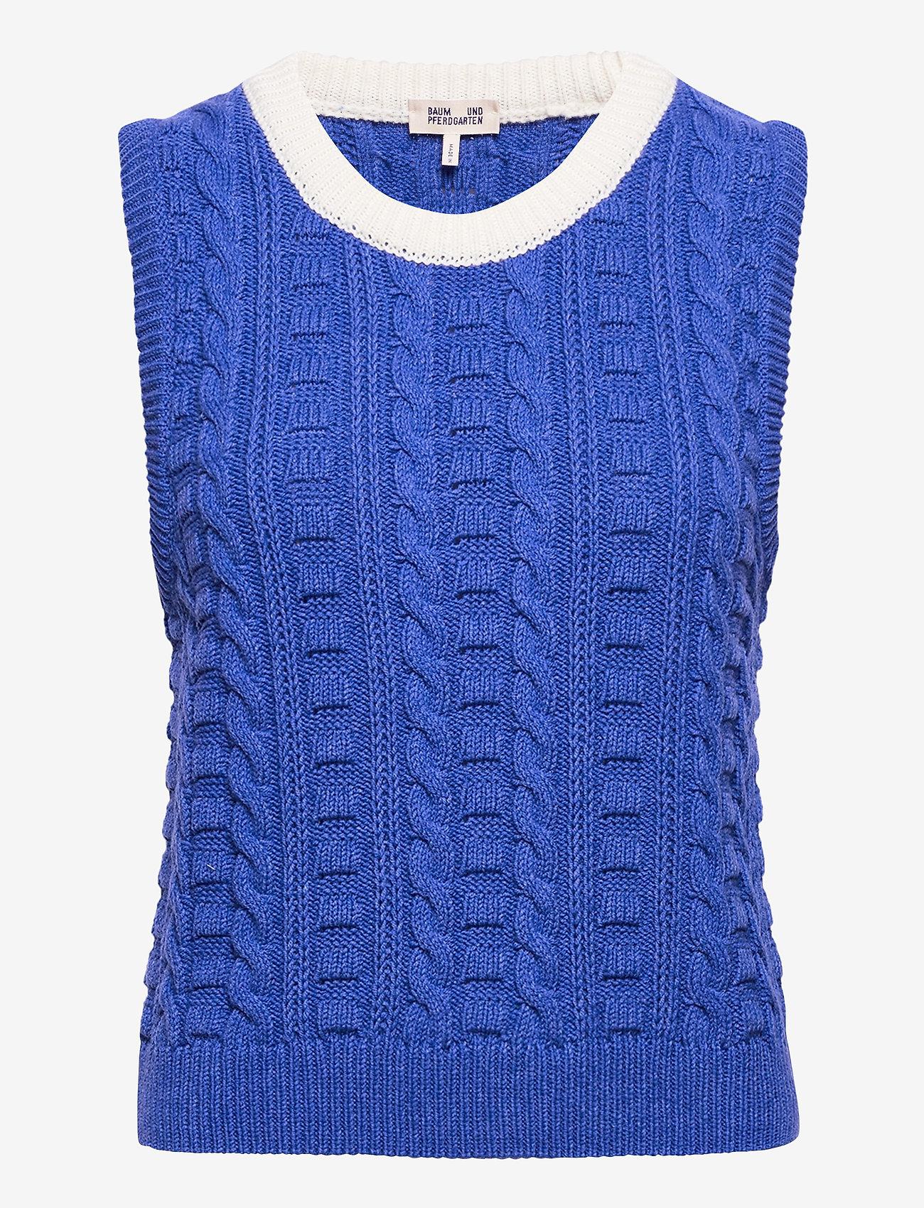 Baum und Pferdgarten - COLEEN - knitted vests - cosmic blue - 0