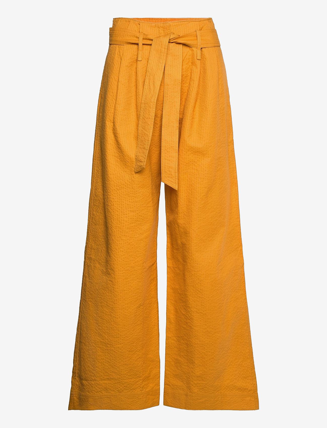 Baum und Pferdgarten - NUMIE - bukser med brede ben - sunflower love - 0