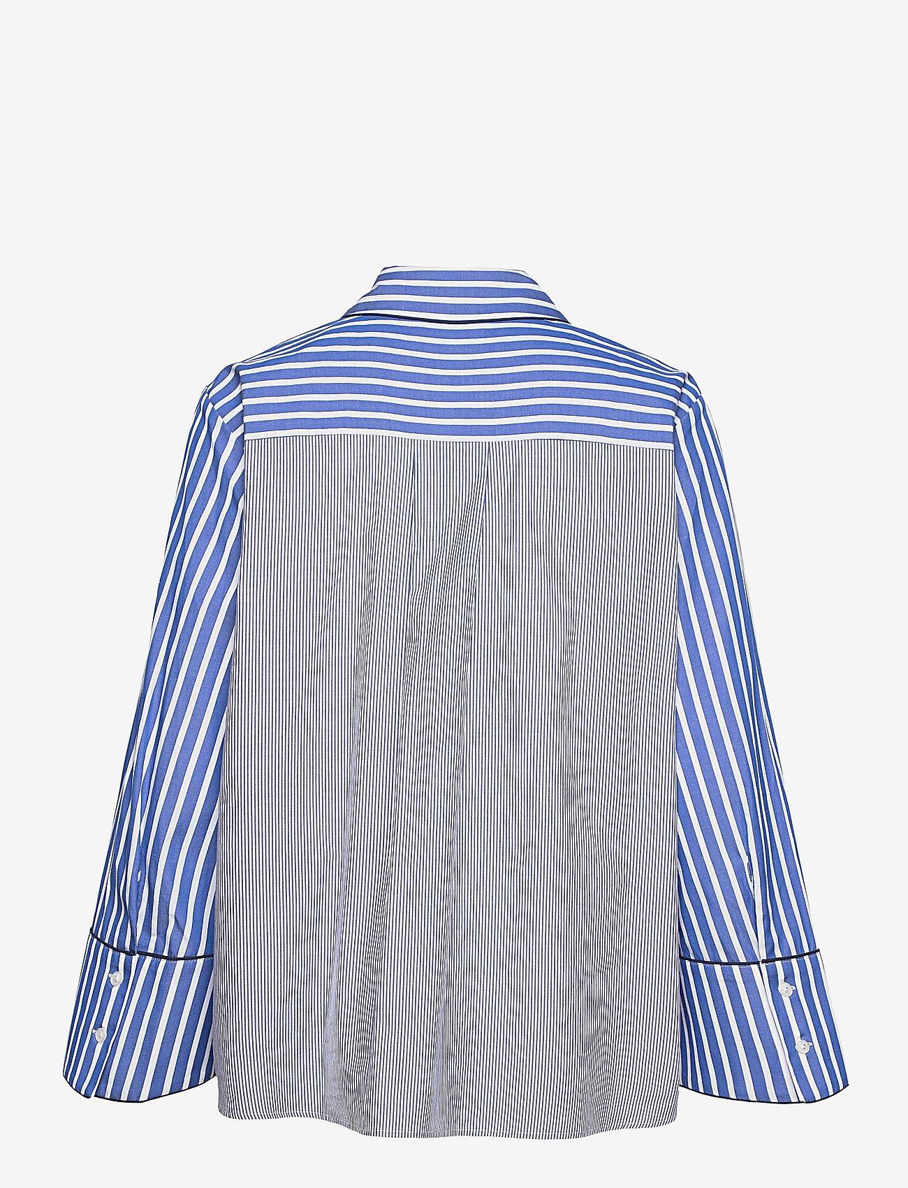 Baum und Pferdgarten - METTIE - jeansblouses - blue folk stripe - 2