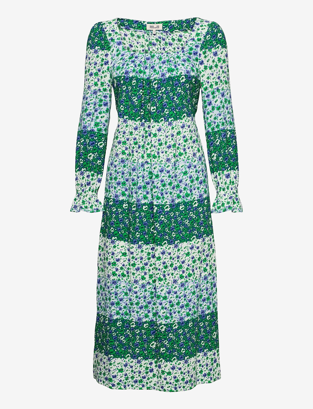 Baum und Pferdgarten - ASAYO - maxi dresses - green ditzy mix - 0