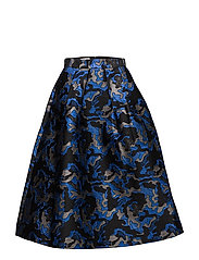 SASHENKA SKIRT - BLUE ARMY
