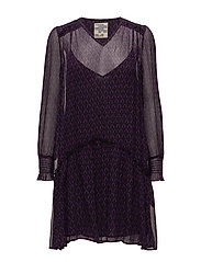 ABALENA DRESS - PURPLE PETAL