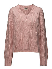 CORALIE SWEATER - BLOSSOM PINK
