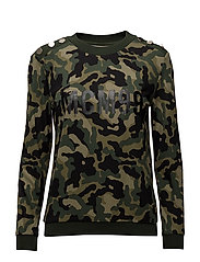 JAPERA BLOUSE - GREEN ARMY