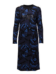 JANNY DRESS - BLUE ARMY