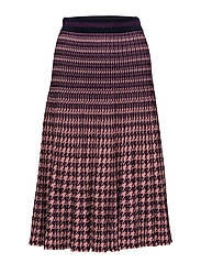 CYRILLA - ROSE PURPLE HOUNDSTOOTH
