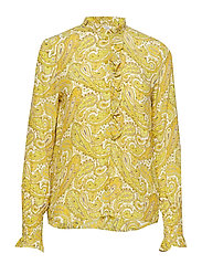 MORNA - YELLOW PAISLEY