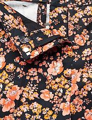 Baum und Pferdgarten - NATIA - vide bukser - peachblack floral - 4
