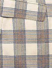 Baum und Pferdgarten - SHANI - korte nederdele - creamnavybrown checks - 2