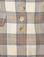 Baum und Pferdgarten - SHANI - korte nederdele - creamnavybrown checks - 3