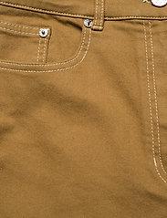Baum und Pferdgarten - NIKKA - pantalons larges - dijon brown - 3