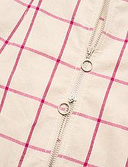 Baum und Pferdgarten - AHELI - sommarklänningar - oyster grey pink check - 3