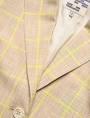 Baum und Pferdgarten - BRYONY - casual blazere - rio yellow check - 2