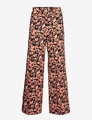 Baum und Pferdgarten - NATIA - vide bukser - peachblack floral - 1