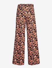 Baum und Pferdgarten - NATIA - vide bukser - peachblack floral - 2