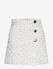 Baum und Pferdgarten - SHERIDAN - korte nederdele - creamblack flying dots - 0