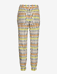 Baum und Pferdgarten - NEMA - casual trousers - peachyellowblack check - 2