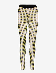 Baum und Pferdgarten - JAZZLYN - leggings - yellow black check - 0